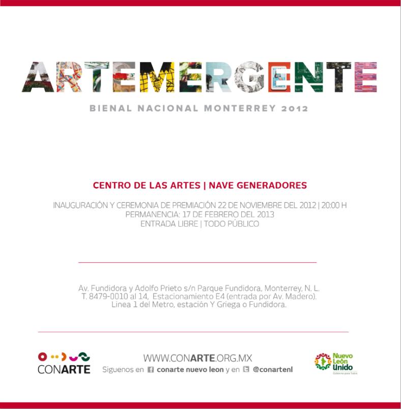 Artemergente-invitación-inauguracion-2012