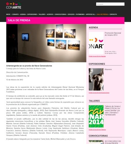 Bienal Artemergente-Guillermo Serrano